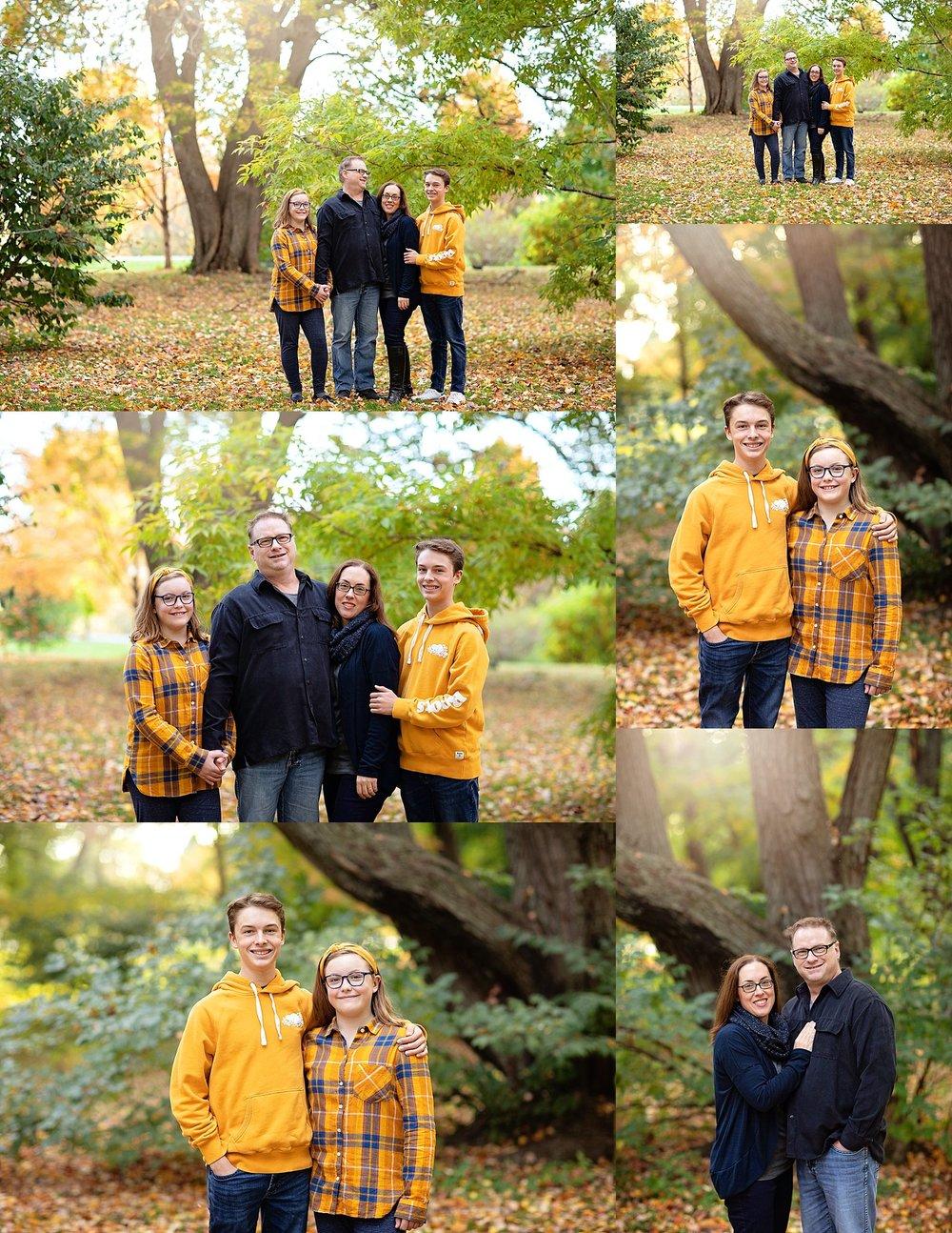 Family Picture Ottawa Arboretum