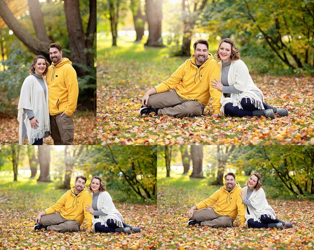 Couples Casual Portraits Arboretum