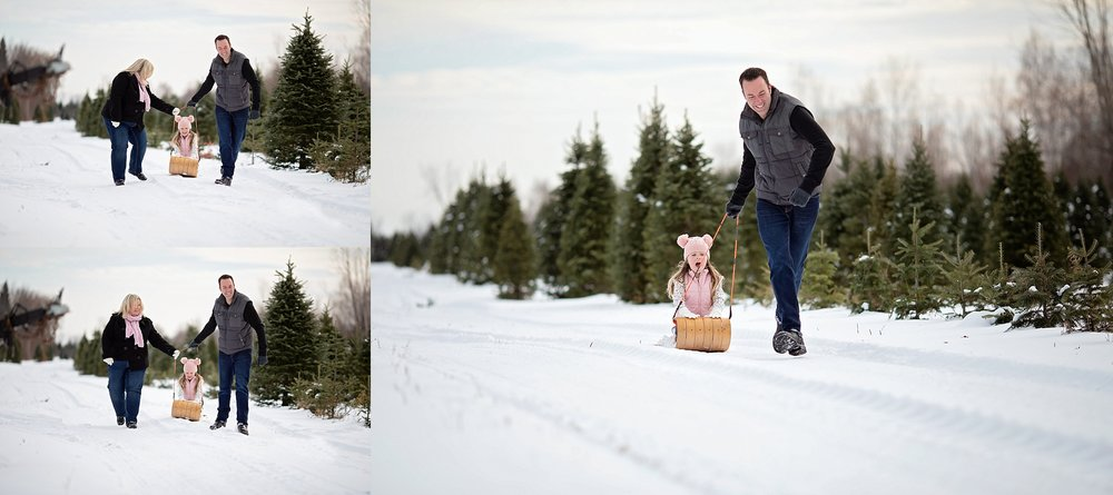Winter Family Portraits