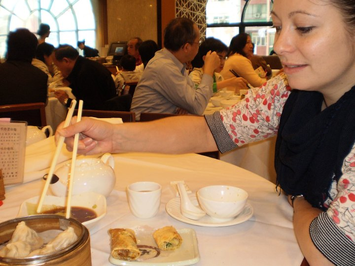 Me & My Pump tackle dim sum
