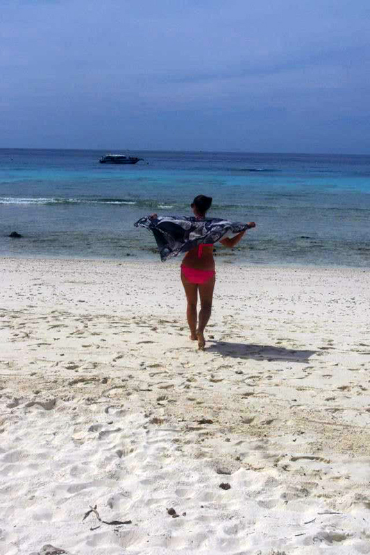 Me & My Pump on the Similan Islands
