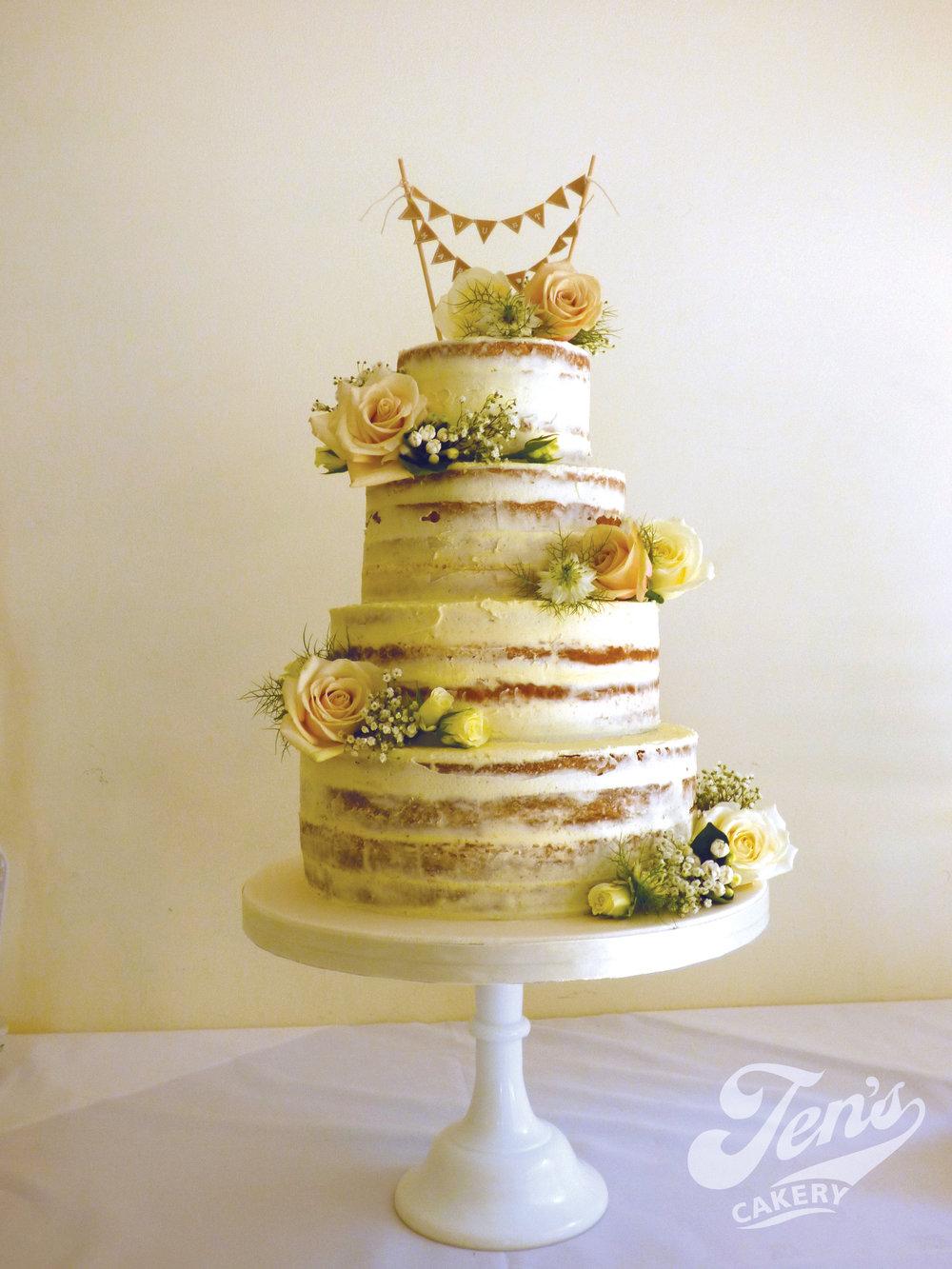 Semi-naked Cakes — Jen\'s Cakery