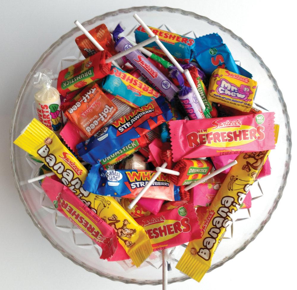 13. Retro sweets