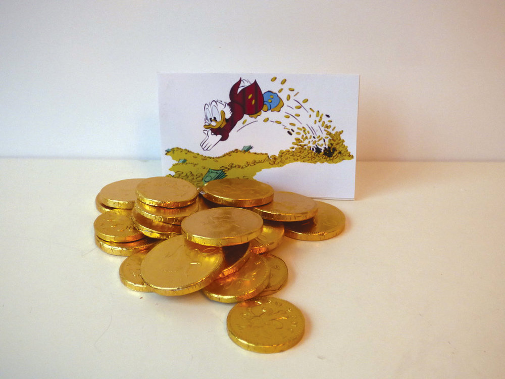 14. Chocolate coins