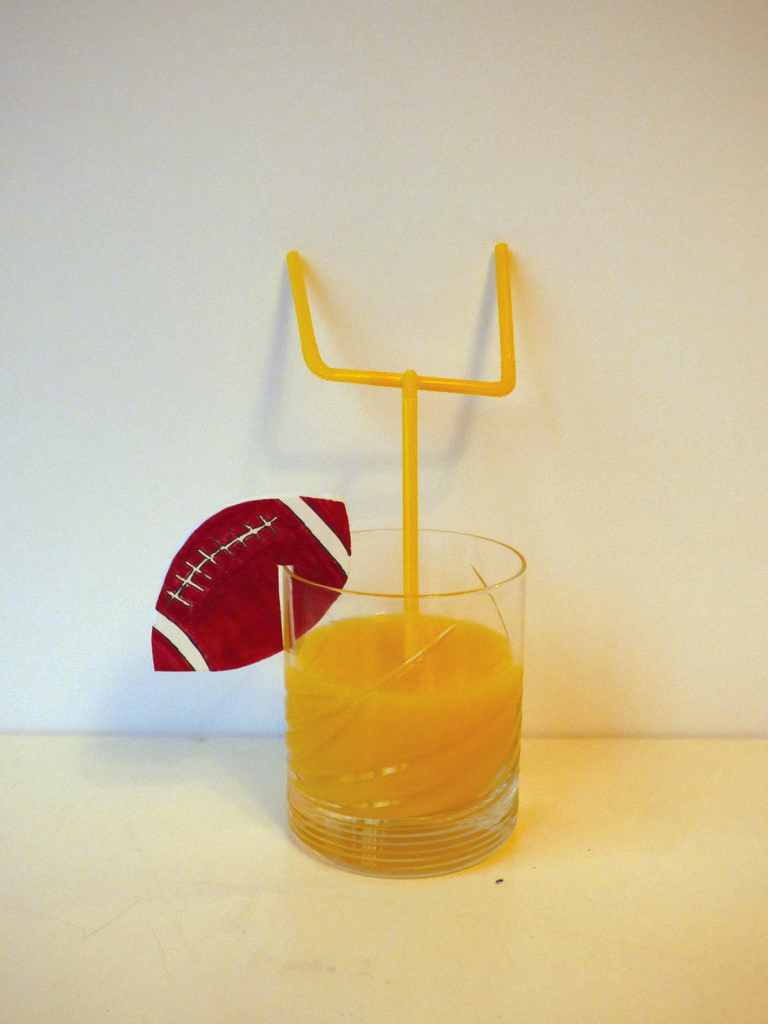 24. Orange juice