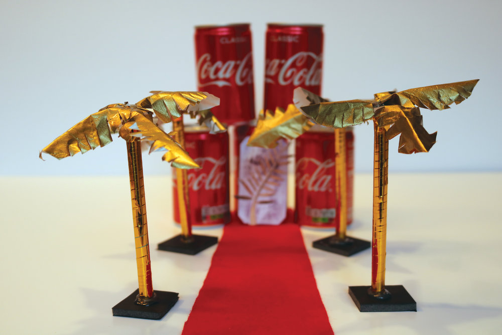 24. Cans of coke