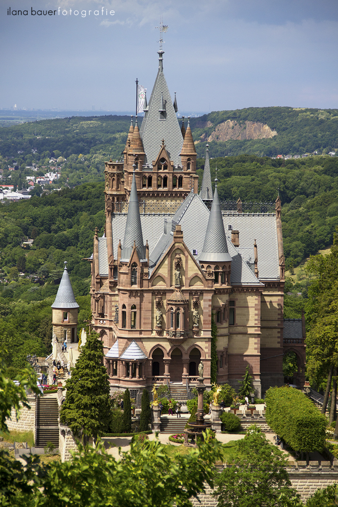 Schloss Drachenburg  in the Siebengebirge