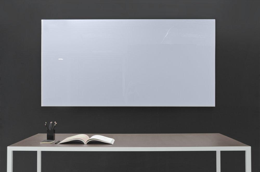 Frameless Magnetic Glass Whiteboard