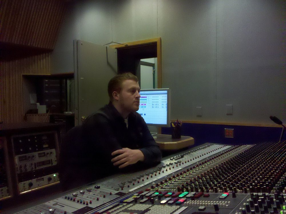Ryan at The Annex Studio A