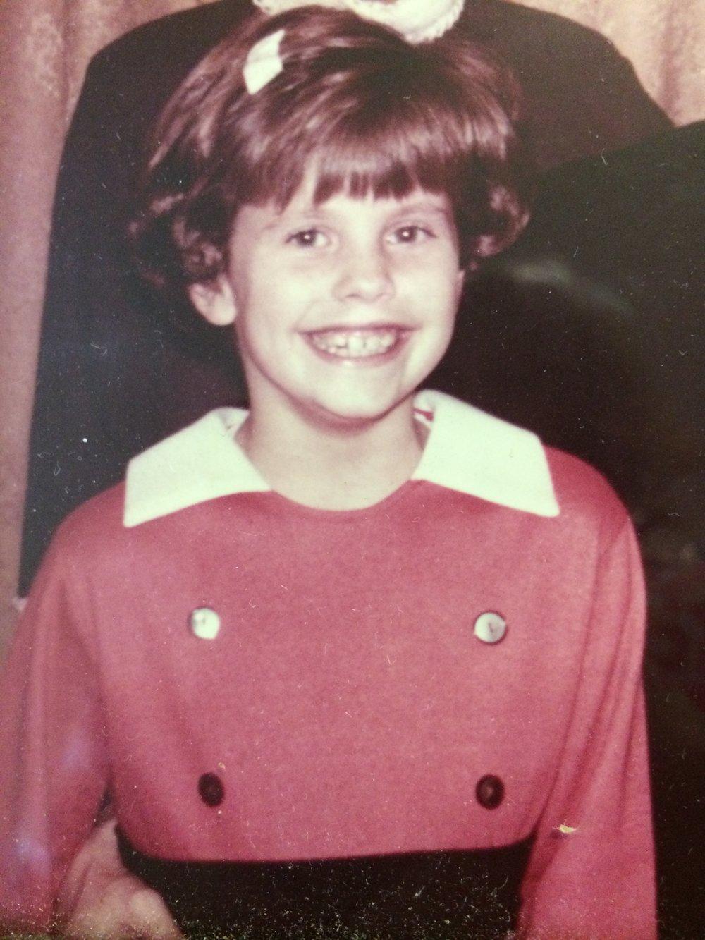 Me,age 7