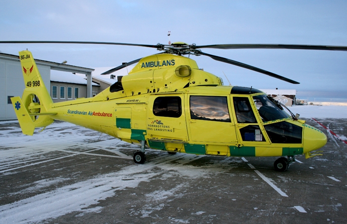 SAAB (for Scandinavian MediCopter), Sweden