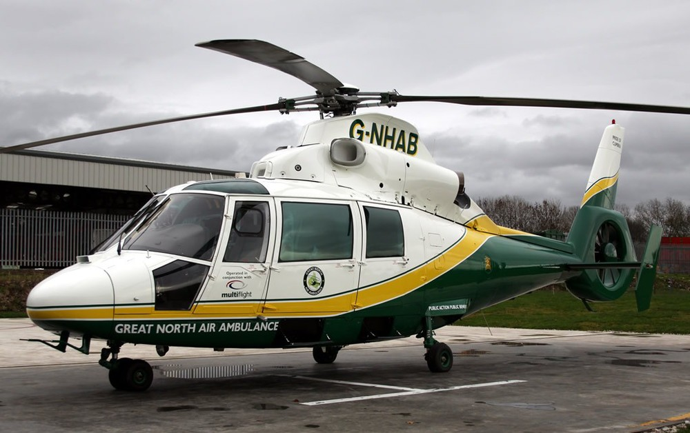 Multiflight (for Great North Air Ambulance), UK