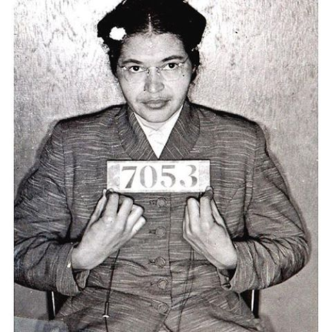 1st December 1955, Rosa Parks sat down to stand up. #today