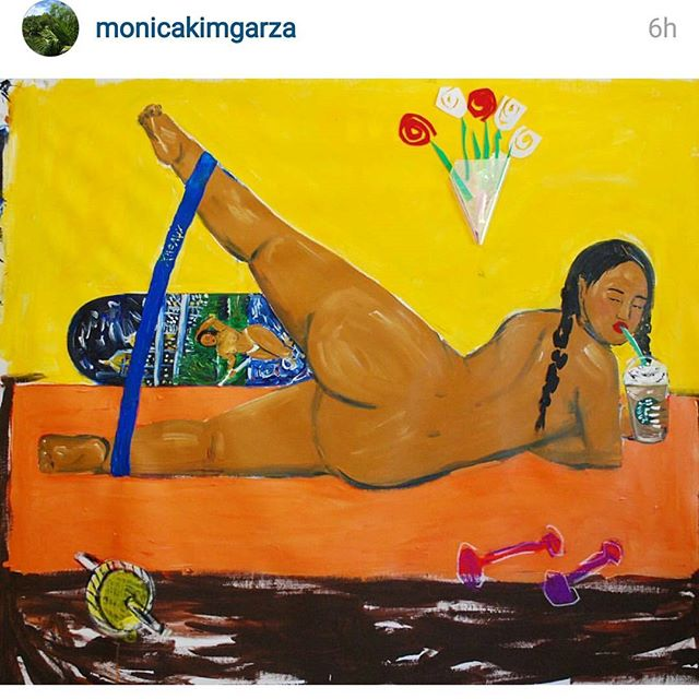 Work by @monicakimgarza  Lush work. Check it out