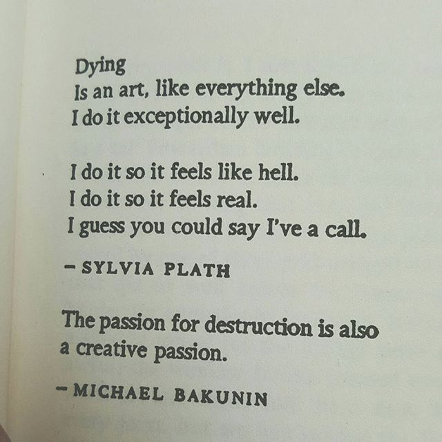 Dying is an art..