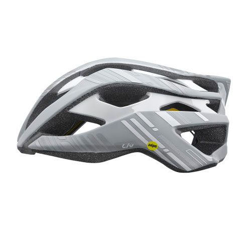 LIV Rev MIPS Womens Road Helmet (white), £119.99  Available from www.liv-cycling.com