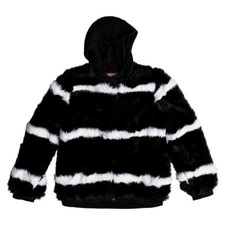 Roxy Carrie Technical Faux Fur Jacket, £195  Available from www.roxy-uk.co.uk