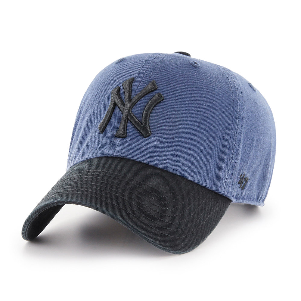 '47 New York Yankees Two Tone CLEAN UP Cap, POA  Available from www.47brand.com