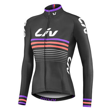LIV Race Day Thermal Long Sleeve Jersey, £64.99  Available from www.liv-cycling.com