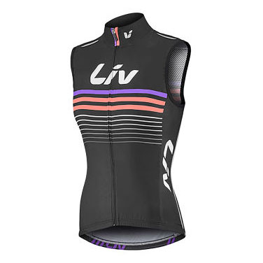 LIV Race Day Wind Vest, £64.99  Available from www.liv-cycling.com