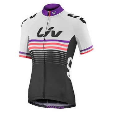 LIV Race Day Short Sleeve Jersey WHT, £59.99  Available from www.liv-cycling.com