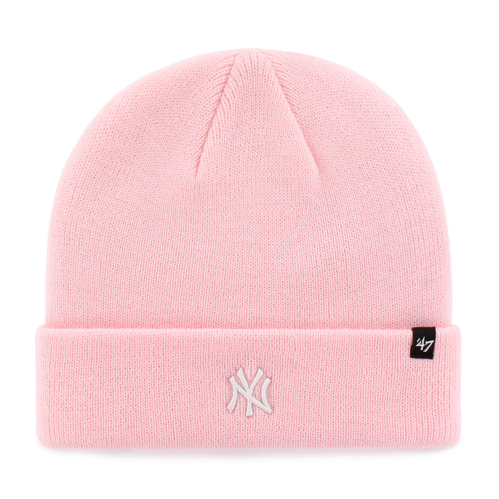 '47 New York Yankees Centrefield Beanie in Light Pink, £19.99  Available from www.hatstore.co.uk