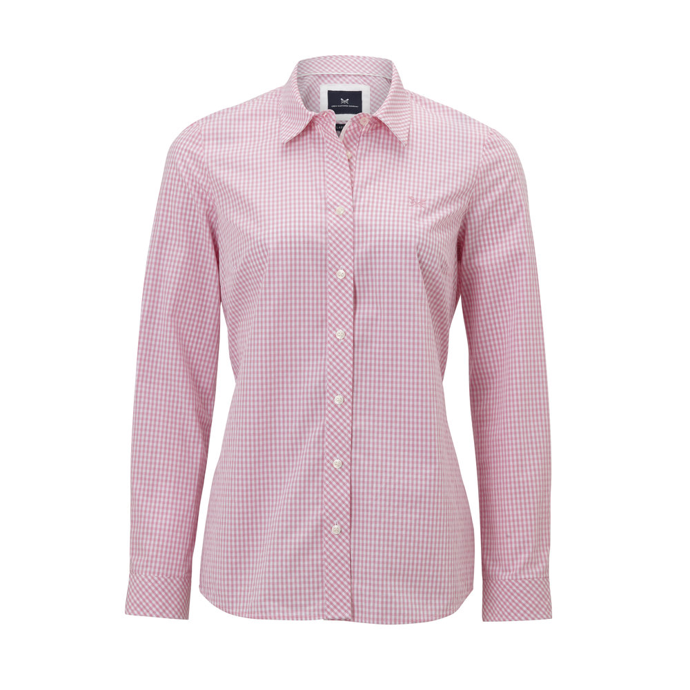 Crew Clothing Gingham Classic Shirt, £49.00  Available from www.crewclothing.co.uk
