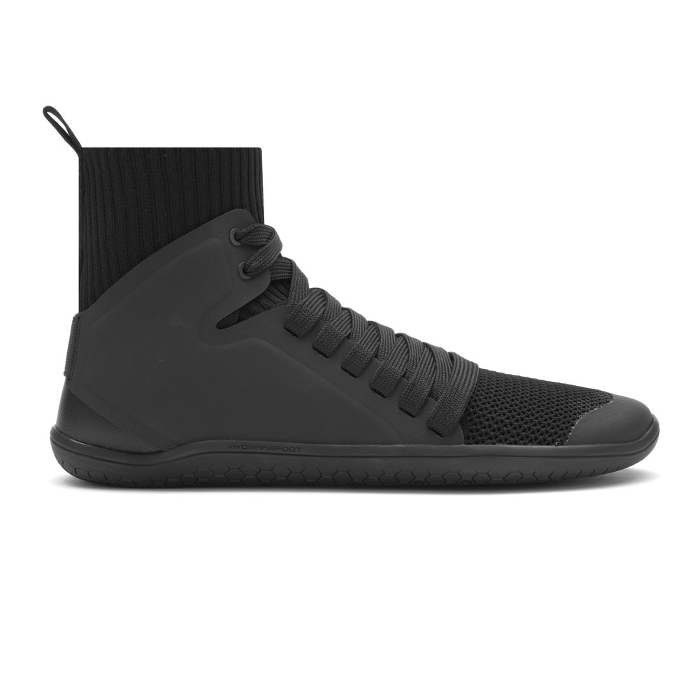 VivoBarefoot Black Kanna Hi Mesh, £120.00  Available from www.vivobarefoot.com