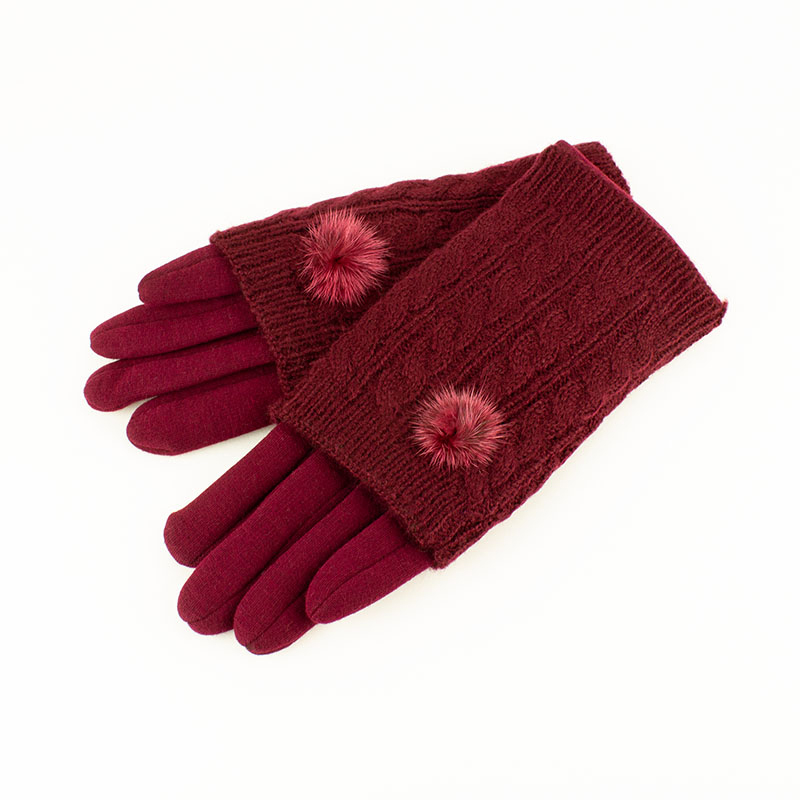 Welligogs Burgundy Wine Triple Gloves, £25.00  Available from www.welligogs.com