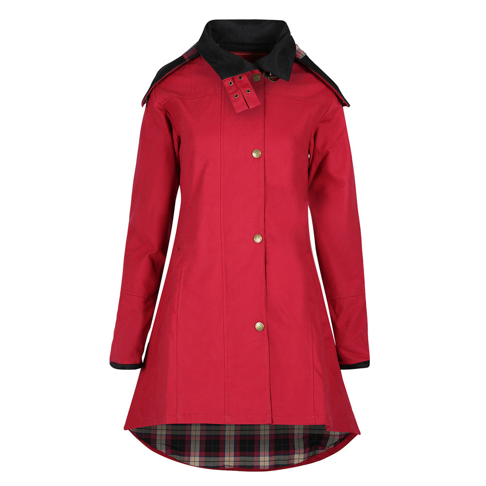Welligogs Odette Cranberry Waterproof Windproof Coat, £249  Available from www.welligogs.com