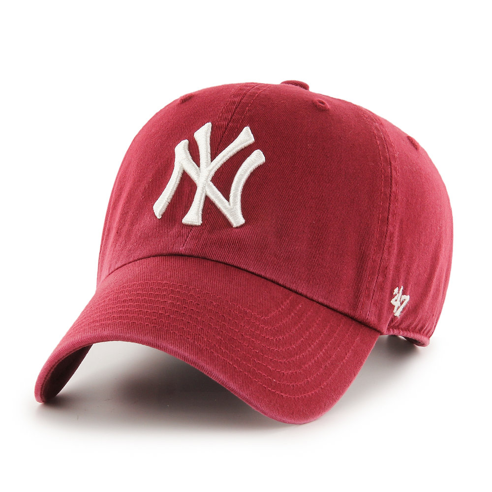 '47 CLEAN UP, New York Yankees in Red, £24.99  Available from www.hatstore.co.uk