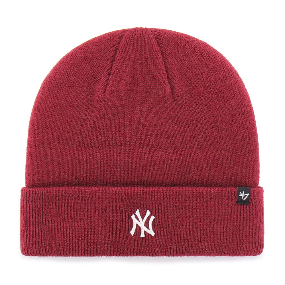 '47 New York Yankees Centrefield Beanie in Red, £19.99  Available from www.hatstore.co.uk.jpg