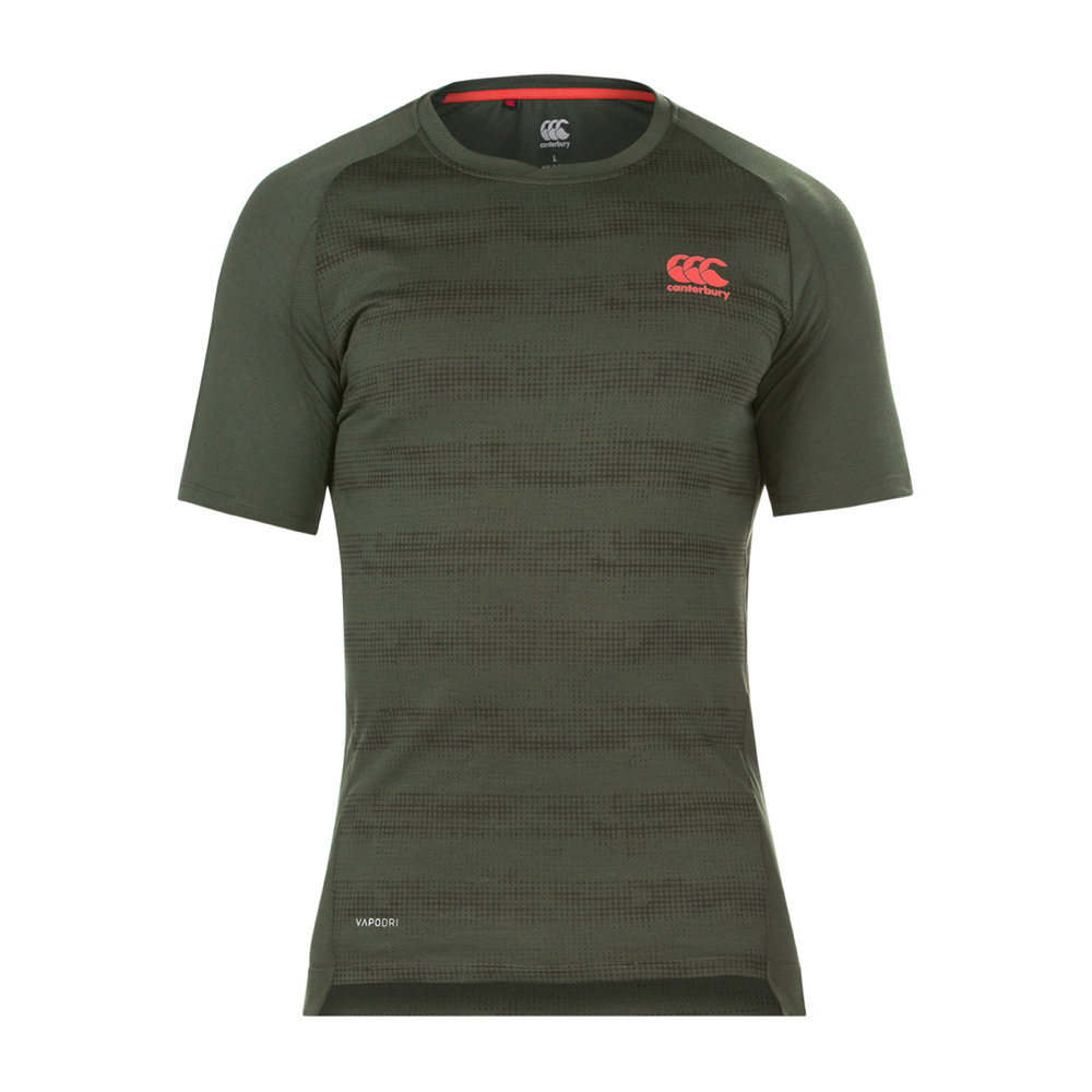Canterbury Mens Vapodri Performance Cotton Tee, £25.00  Available from www.canterbury.com
