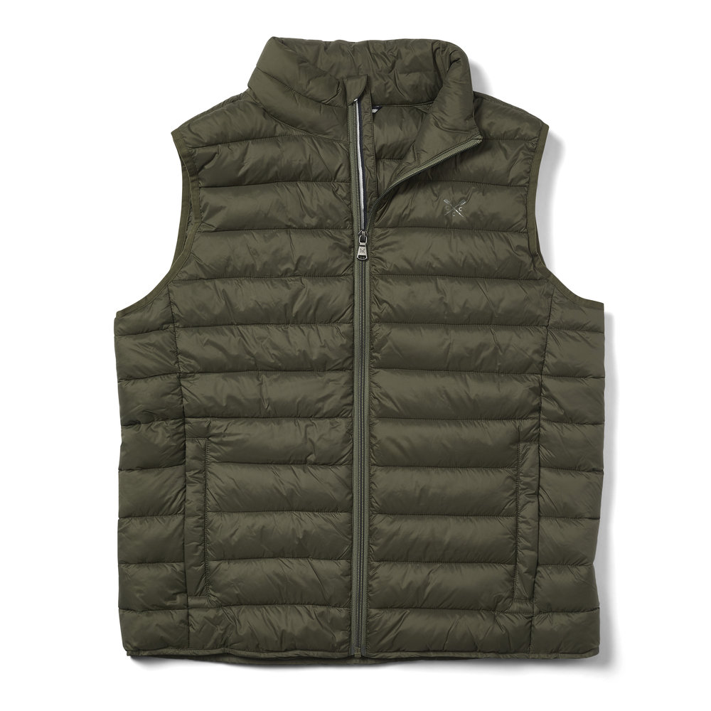 Crew Clothing Lightweight Gilet, £79.00  Available from www.crewclothing.co.uk