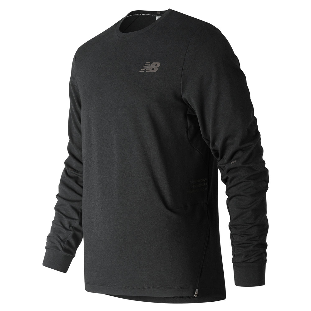 New Balance Q Speed Softwear Crew, POA  Available from www.newbalance.co.uk Under embargo until January 2019