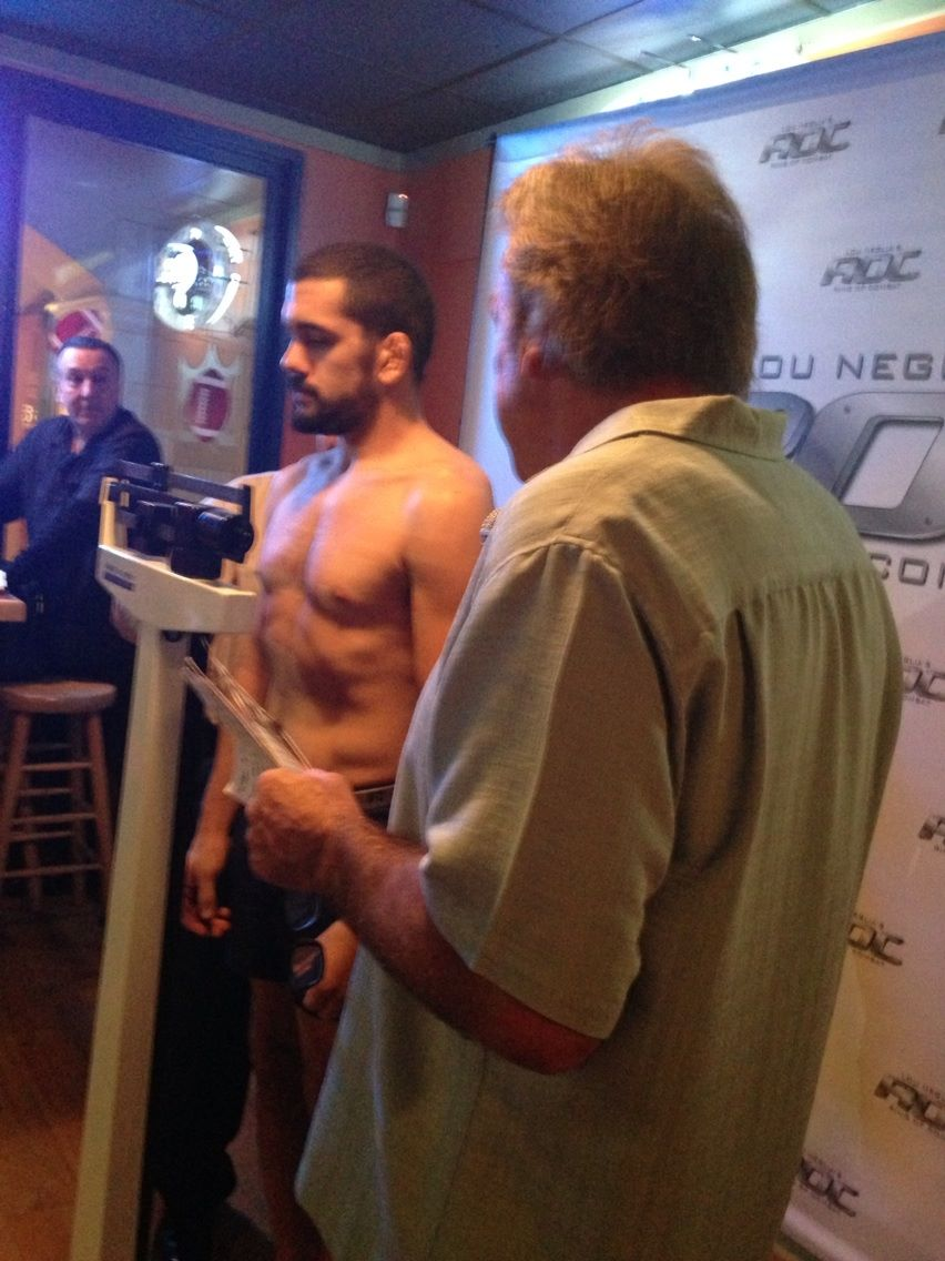Shamy Weighs In at 184 Pounds