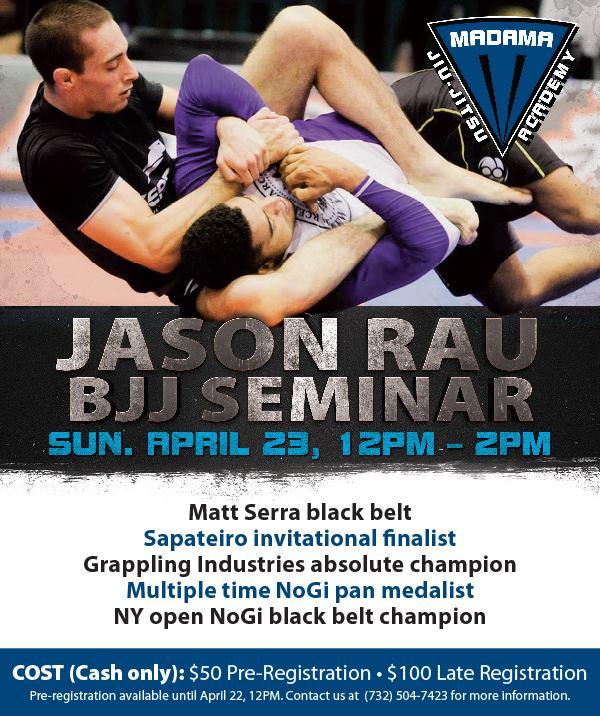 Jason Rau Seminar — Madama Brazilian Jiu-Jitsu