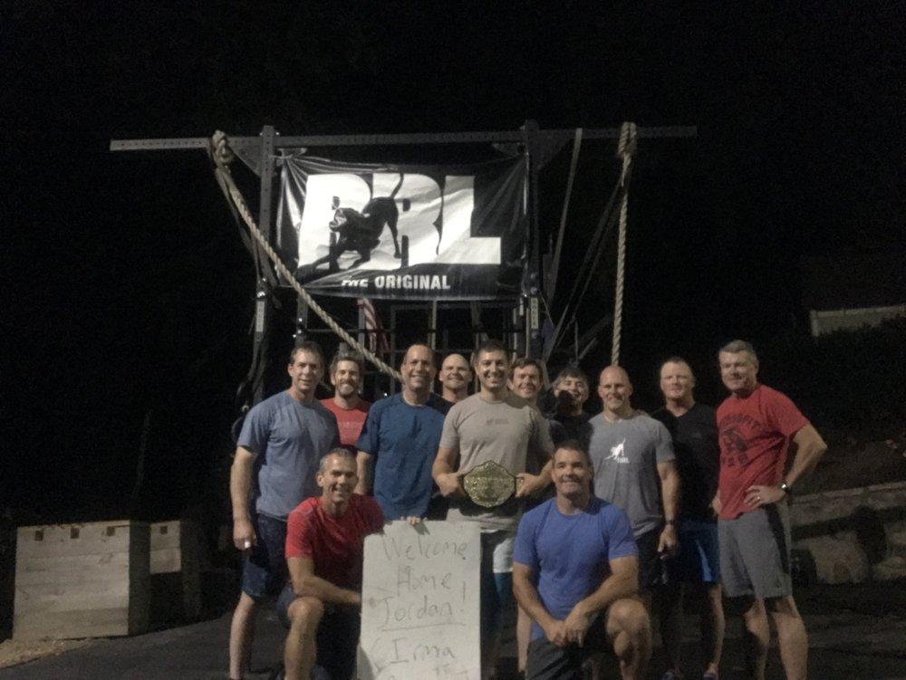 Jordan Gallup returns as he evacuates Hurricane Irma from Amelia Island. We gave him the honorary World Championship belt