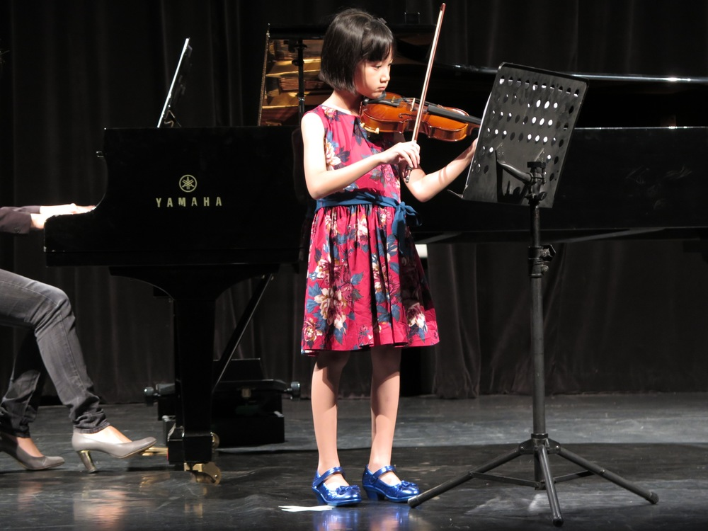 Hazel's wonderful performance on the violin!