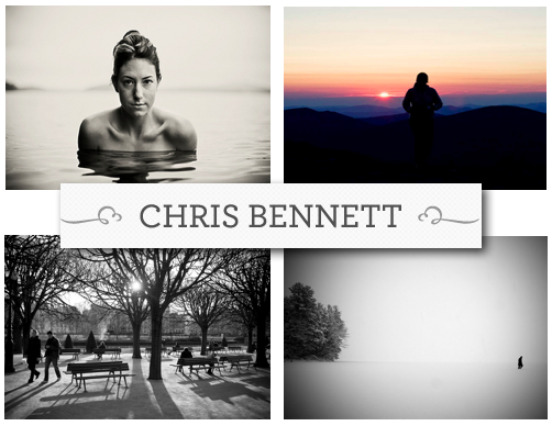 chris bennett photo collage