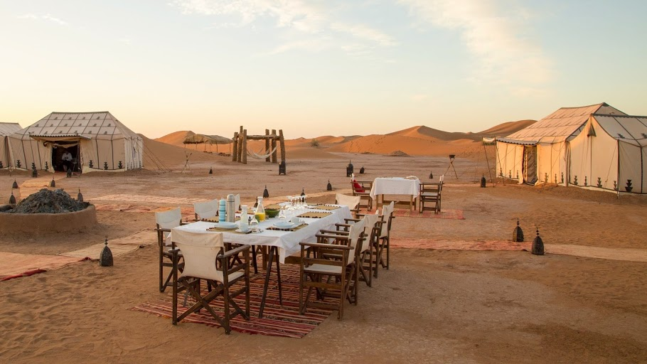 (Photo courtesy  Erg Chigaga Luxury Desert Camp )