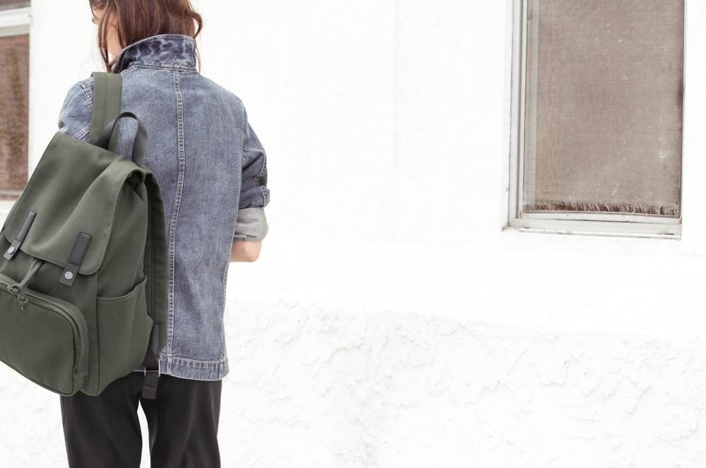 The  Everlane Modern Snap Backpack