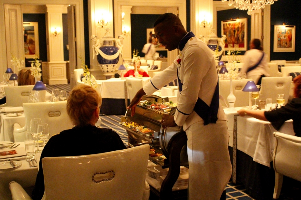 The Grill Room  at the Oyster Box Hotel in Umhlanga