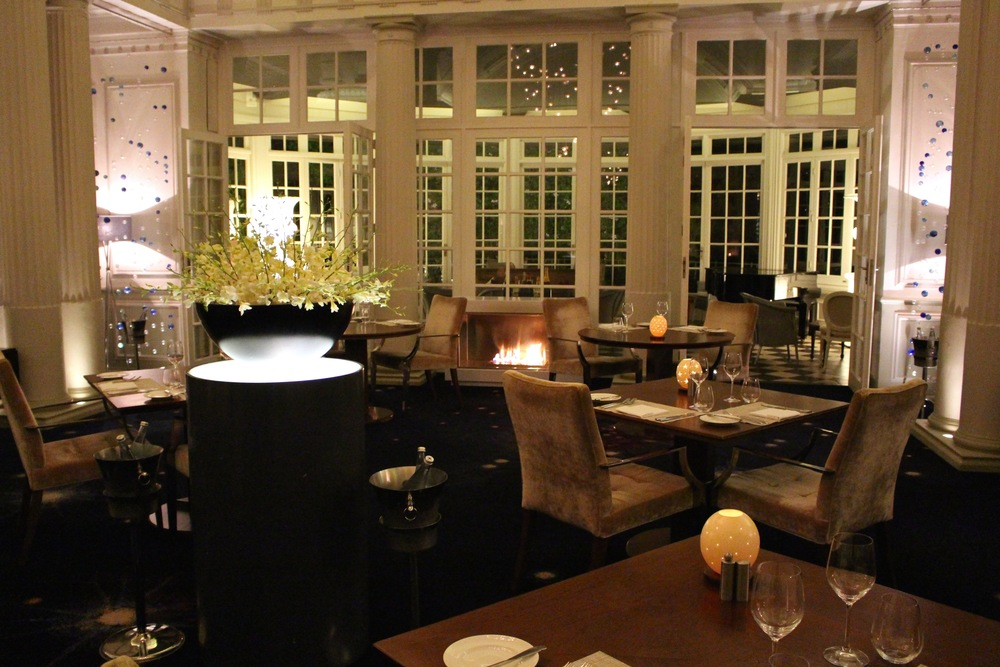 The  Planet Restaurant  at the Mount Nelson Hotel in Cape Town