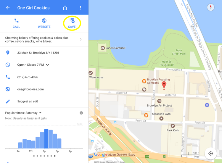 check for reviews from local guides check opening hours read menus now that google maps has integrations like opentable you can even make a reservation
