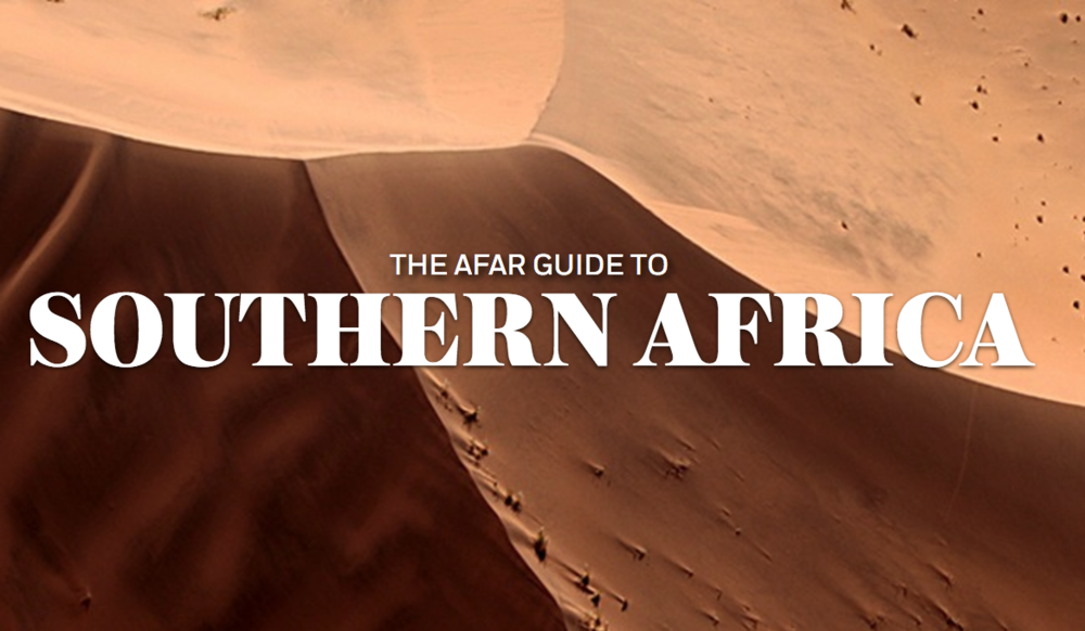 The AFAR Guide to Southern Africa, AFAR.com (2016 - present)