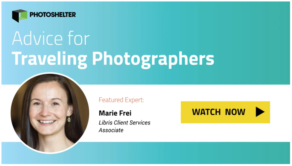 Marie Frei PhotoShelter question of the week