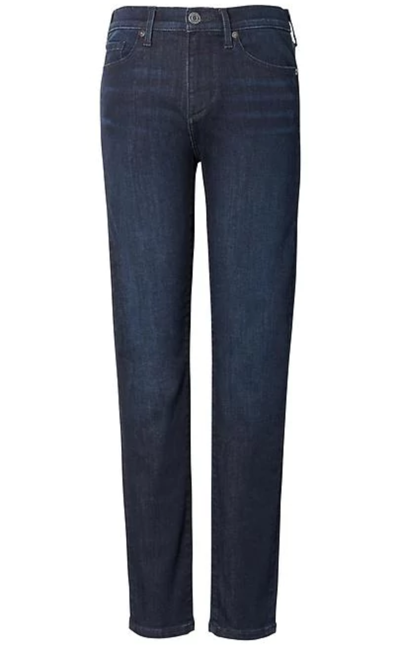 Banana Republic Sculpt Dark Wash Skinny Ankle Jean