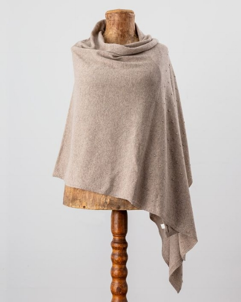 Avoca's cashmere blend multi-way wrap  is a must have for any long-haul flight