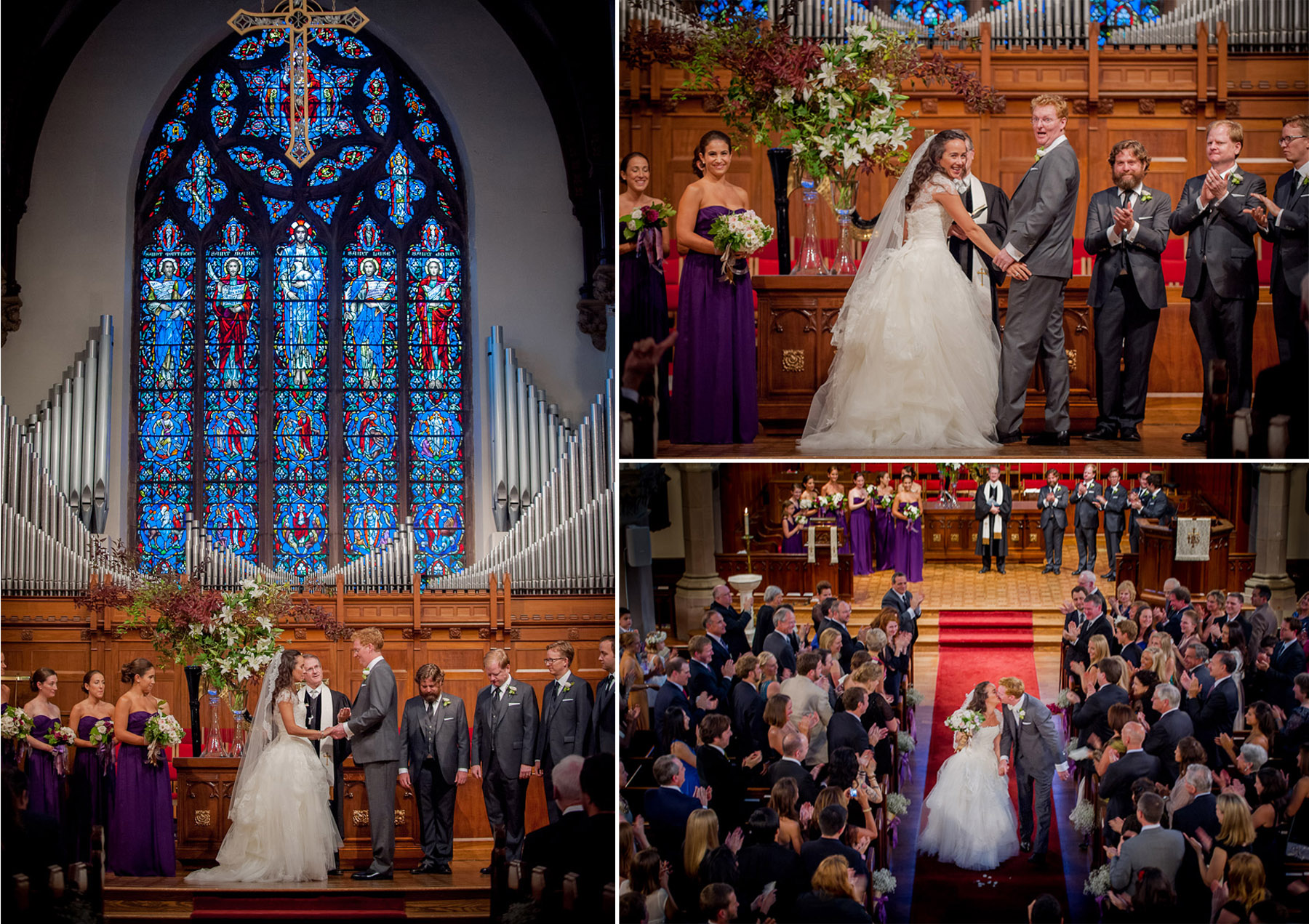 Emily and Bobby's Rye Presbyterian Church and Apawamis Club Wedding.